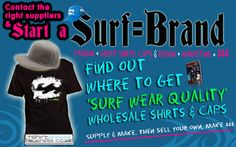 Start a surf Brand South African