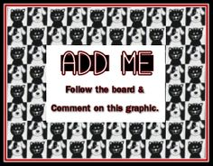I will follow and add you as soon as I possibly can. Not sending unsolicited invitations at this time. You must ask to be added, but I would love to have you join us!