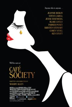 Trailer, images and poster for Woody Allen's CAFE SOCIETY starring Jesse Eisenberg, Kristen Stewart, Blake Lively, Steve Carell and Parker Posey. Parker Posey, Steve Carell, Woody Allen, Corey Stoll, Blake Lively, Kristen Stewart, Streaming Movies, Hd Movies, Movies Online