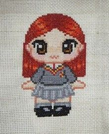 Ginny Weasley Cross Stitch