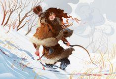 Picturing Archers | Tor.com Inspiration Artistique, Character Design Inspiration, Art Inspo, Amazing Art, Art Reference, Science Fiction, Illustrators, Character Art, Fantasy Art