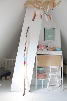 BRITTA BLOGGT: Tadaaaaa......Das Hippie-Tipi-Kinderzimmer!