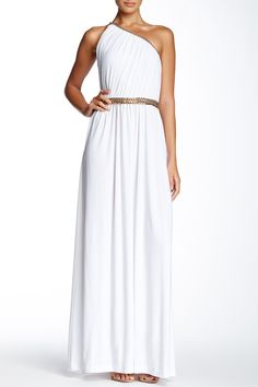 Lillith Shirred Toga Maxi Dress by Rachel Zoe on @HauteLook