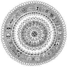 Image of Mandala Sunny Original