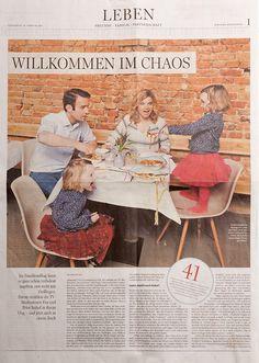 Mein Chaosfamilienfoto in der Berliner Morgenpost