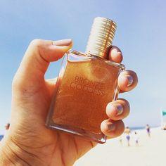 Estee Lauder Bronze Goddess body oil.
