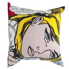 Lichtenstein - Hopeless cushion cover
