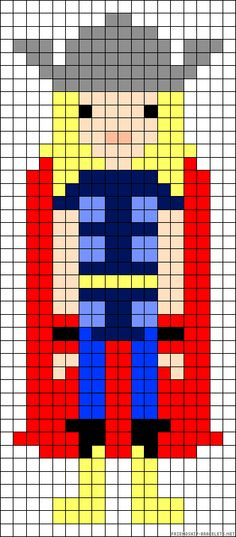 Can be used for counted cross stitch as well. Pony Bead Patterns, Pearler Bead Patterns, Perler Patterns, Loom Patterns, Beading Patterns, Cross Stitch Patterns, Crochet Patterns, Minecraft Marvel, Melting Beads