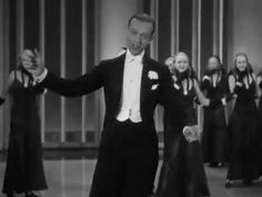 ▶ Fred Astaire - Shall We Dance ...cheerful way to get  ready for the weekend...with your dancing shoes firmly in place