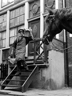 Deliveries - Amsterdam Netherlands 1953