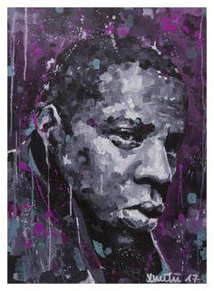 JAY-Z Acrylic on canvas, 50x70
