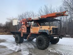 2000 GMC C7500 HI Ranger 60' Over Center Bucket Boom Truck Forestry Flotation | eBay Backyard Basketball, Basketball Court Flooring, Backyard Fort, Backyard House, Machine Image, Machine Photo, Erosion Control, Tree Care, Fish Ponds