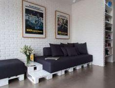 wohnzimmer inspirationen mit sofa aus europaletten