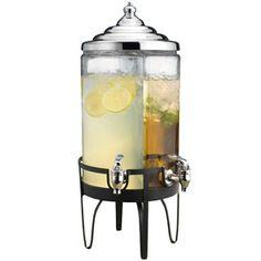 Side by side drink dispenser