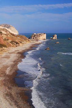 Petra tou Romiou, Paphos, Cyprus