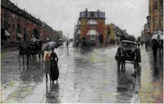 Childe Hassam. American impressionist painter.