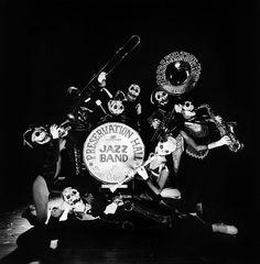 Vintage photo - Preservation Hall #Jazz Band Halloween #neworleans #Louisiana