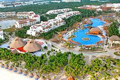 the valentin imperial maya resort in the riviera maya mexico its a honeymoonanniversaryvaction must