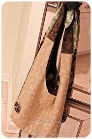 Amandita Designs: Reversible Hobo Bag Tutorial Hobo Bag Tutorials, Sewing Tutorials, Sewing Projects, Sewing Kids Clothes, Sewing For Kids, Apron Tutorial, Diy Tote Bag, Denim Bag, Purse Patterns