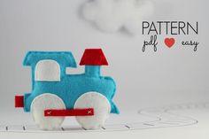 Train Pattern - Felt Sewing Pattern   Craftsy
