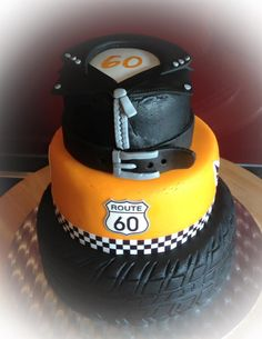 Torte Motorrad Motorradjacke Reifen Cake Motorbike Motorbikejacket Tire