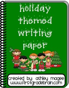 This packet consists of 20 different writing papers (5 styles, 4 versions of each style)! Two of the versions include a space at the top for an ill...