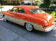 1949 MERCURY CUSTOM 4 DOOR SEDAN - 139942