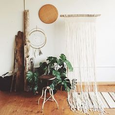 Feeling the morning magic in the studio today What projects are you working on. - Diy And Crafts Home Interior Design, Interior Styling, Nordic Home, Studio, Hanging Chair, Ladder Decor, Beautiful Homes, Living Spaces, New Homes