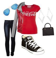 i 3 coca cola outfit by cenika coca cola pinterest coca cola