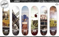 Traffic Skateboards - Jon Bocksell's double exposures of New York City