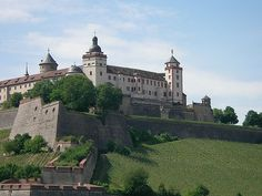 Marienfestung Wuerzburg, Germany....1983 to 1986... I could see this castle from my back balcony!