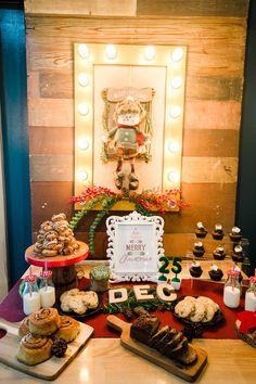 The Night Before Christmas Theme Editorial Shoot - Santa Treats Spread Party Themes, Party Ideas, The Night Before Christmas, Christmas Themes, Wonderful Time, Editorial, Santa, Treats, Table Decorations