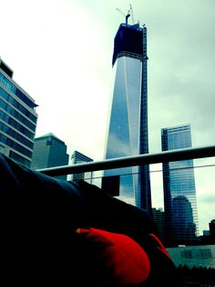Bee Destination Secret : New York  If you have a thing for sight seeing and if skipping the lines and sipping a martini add to your leisure, follow Madame Bee to the W downtown. Overlook the Ground Zero memorial, dive into the blue crab dip and wash it all off with a berry bramble. Now that's a holiday. #w #whotel #newyork #groundzero Crab Dip, W Hotel, Bramble, Empire State Building, Martini, Diving, Places Ive Been, Exploring, Berry