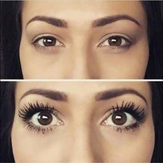 Our before and afters don't lie! Get your Younique 3D Fiber Lash mascara and you will never go back to other brands. https://www.youniqueproducts.com/Jewelzbeauty