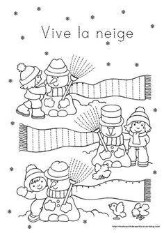 """.. Hiver .. """" fiches activités thème hiver """""""