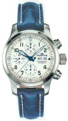 Brand : FORTIS Watches  Model : Fortis B-42 Flieger  Code : 635.10.12LC  Category : Automatic Chronograph