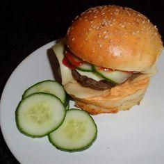 Hamburger-Brötchen, die Besten!