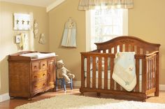 baby room decorating ideas | baby room decoration ideas with brown colors Neutral Baby Room Ideas ...
