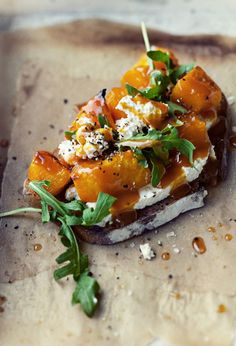This Pumpkin Bruschetta is almost too pretty to eat.