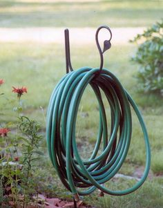I created the first hose holder back in 1983. Have sold over 23,000 since that time to major garden supply catalogs,  and retail outlets and art shows in