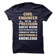 Proud Be A Civil Engineer T Shirts, Hoodies. Get it here ==► https://www.sunfrog.com/No-Category/Proud-Be-A-Civil-Engineer-62068664-Guys.html?57074 $23
