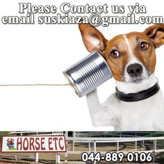 Dear valued Horse ETC customers, our landline is currently down due to a Telkom problem. We do apologize for any inconvenience, but in case of an emergency, please feel free to contact us via fax or email us at suskiaza@gmail.com. #equestrainsports #horsecare #ilovemypet