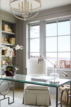Lillian August. Home office inspiration...