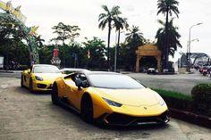 Lamborghini Huracan hơn 20 tỷ của Cường Đô la ra Huế