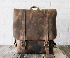No. 42 Leather Backpack by Stock & Barrel Co