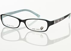 Nine West Women's Eyeglasses. Love frames like these! <3