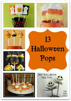 13 Halloween Pops Everyone Will Love