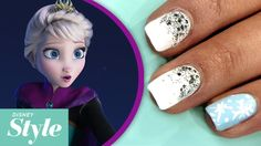Watch: Frozen Inspired Nail Art