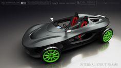 3ders.org - World's first 3D printed car design challenge: winners | 3D Printer News & 3D Printing News
