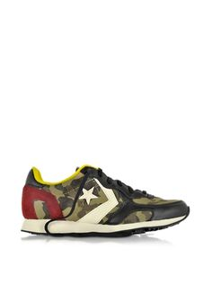 Converse Limited Edition Auckland Racer Ox Camo Fabric & Suede Sneaker